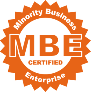 Minority Business Enterprise (MBE) logo